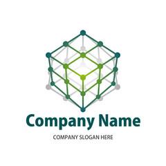 Technology cube logo