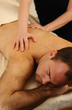 Massaging Man at Day Spa