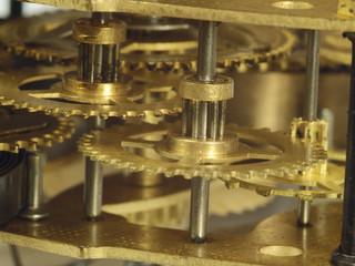 Clockwork fragment close up