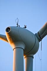 windturbine, sicherung für reparatur