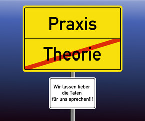 Praxis - Theorie