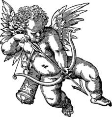 cherub old illustration