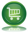 CART Web Button (Add Shop Shopping Commerce Basket Green Vector)
