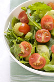 Mixed Leafy and Cherry Tomato Salad