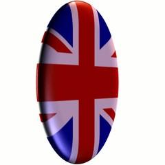 UK Flag spinner
