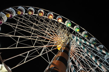 Big big wheel by night