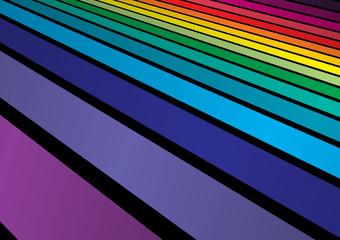 Rainbow colors arranged background