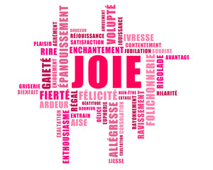Champ lexical de la joie