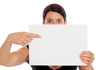 Ein Blatt Papier
