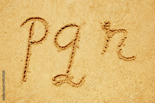 set of sand fonts