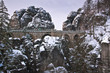 Bastei im Winter
