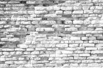 historical white brick wall background