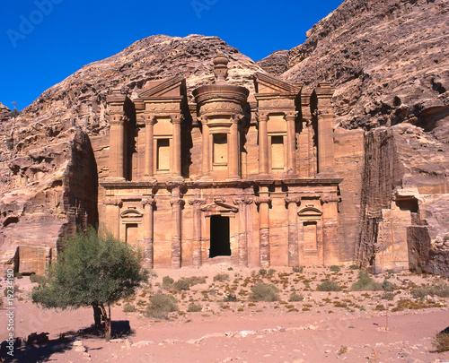 Ed Deir monastery in Petra