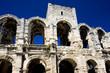 Roman Amphitheatre, Arles, Provence, France