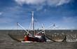 Leinwanddruck Bild - Fischerboot