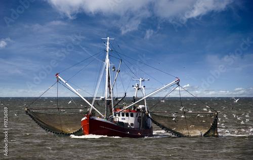 Leinwanddruck Bild Fischerboot