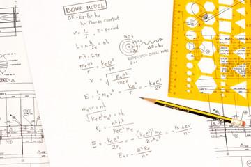 Bohr's model in physics