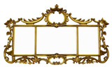 Antique Mirror with Copyspace with path poster