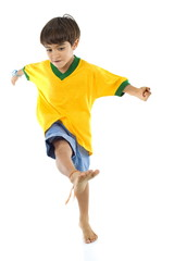 Young Brazilian Player