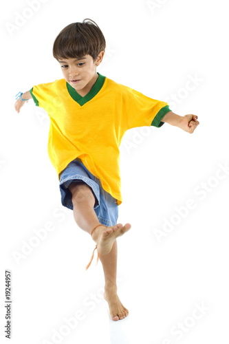 Young Brazilian Player