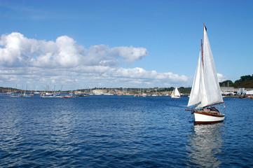 Il porto di Camaret - Bretagna - Francia