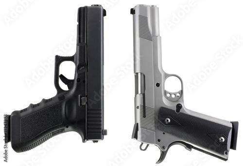 Leinwanddruck Bild Guns