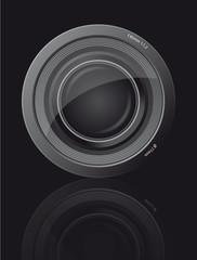 Objektiv zum Fotografieren