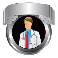 medical doctor silver display