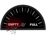 Running on Empty - Fuel Gauge