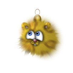 Fur-tree toy - a small tige
