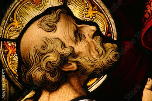 Foto op Plexiglas Bedehuis Stained Glass