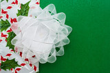 White  Organza Bow