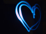 Fototapety amour en lumière