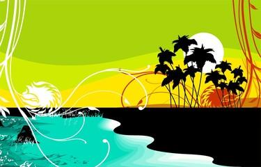 Illustration of Travel background