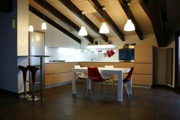 Finished roomy Kitchen