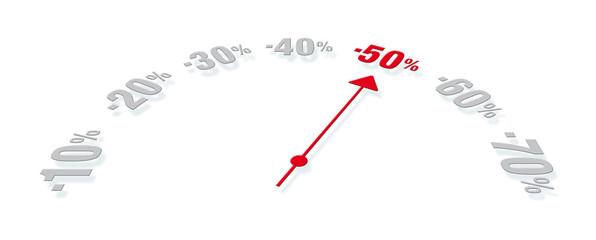 solde 1-50 %
