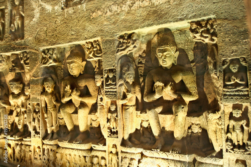 Buddhist cave of Ajanta