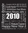2010 Frohes Neues Jahr - Mehr sprachig