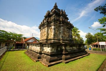 Candi Pawon, near Borobudur Temple, Yogyakarta, Java, Indonesia.