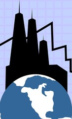 Illustration of globe