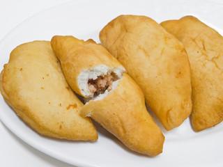 Panzerotti. Italian Food.
