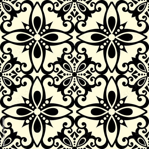 Decorative Seamless Pattern Vector Seamless Decorative Pattern