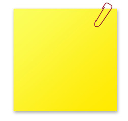 notizzettel, notiz, gelb