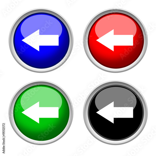 previous, navigation icon & button