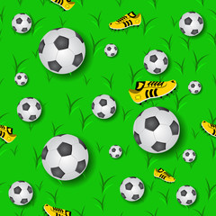 Fottball Seamless Pattern