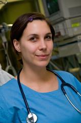 Ärztin auf Intensivstation