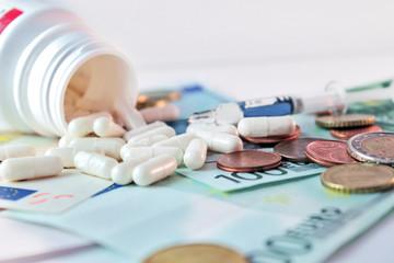 Medizin kostet Geld