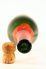 champagne con tappo