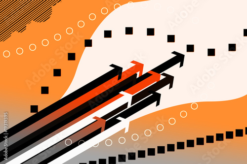 vector arrows background