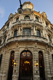 Luxurious building facade in Old havana, cuba